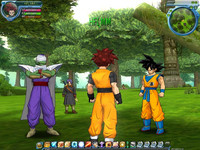 Dragon Ball Online con Gokuh Picolo y Trunks