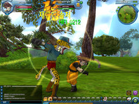 Dragon Ball Online Luchando